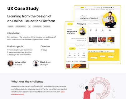 Redesign case study: Online-Education Platform