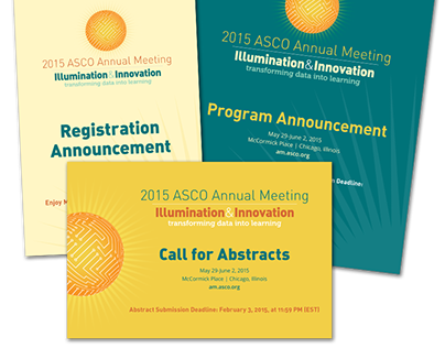 2015 ASCO Annual Meeting brochures