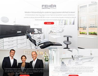 Fehér Dental Team website