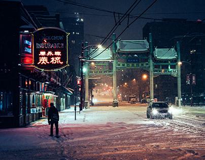 Snowmageddon in Chinatown