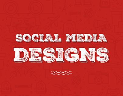 Tarvelio - Social Media Designs