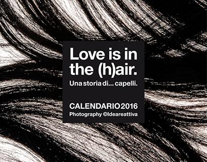2016 Calendar // Love is in the (h)air