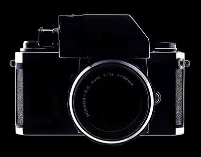 Fine art photography of vintage cameras.