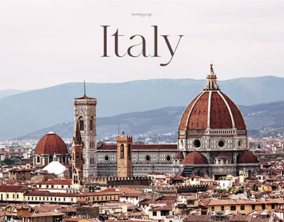 Travel agency/tours to Rome/landing page