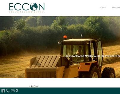 Site Eccon Soluções Ambientais