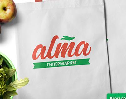 Alma / Алма Logo