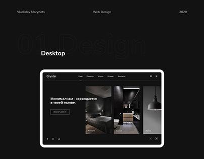 Crystal interior design — компания дизайна интерьеров.