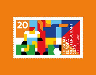 Briefmarke EM 2020