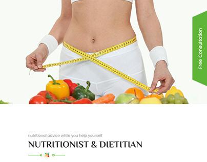 Pusti - Nutrition & Diet Consultancy Center PSD Templat