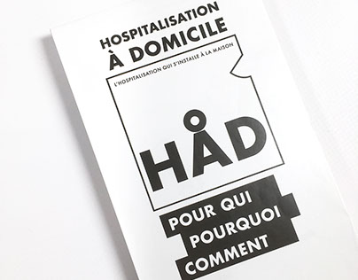 """HÅD — Hospitalization : """"You are here at home"""" !"""