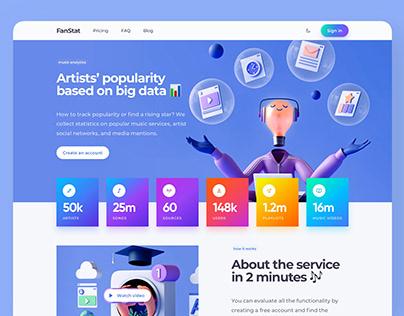 Music Analytics Dashboard Account