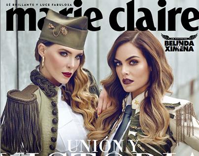 UNIÓN Y VICTORIA Marie Claire 2014