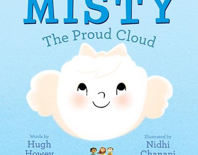 Misty, the proud cloud - Children's book