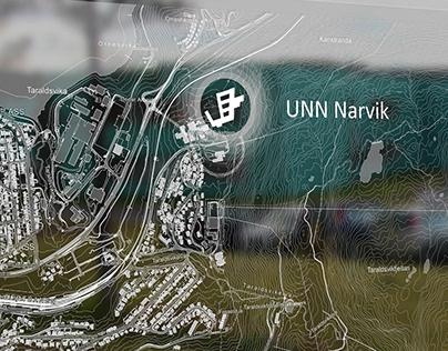 Information point, UNN Narvik