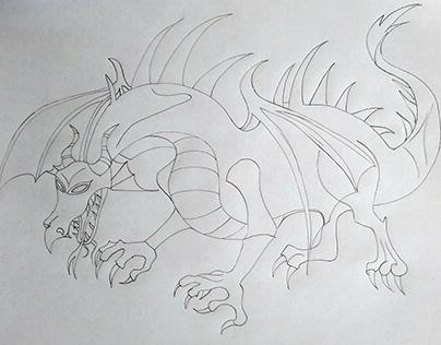 Dragão Malévola