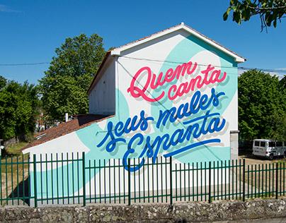 QUEM CANTA • STREET ART VISEU 2018