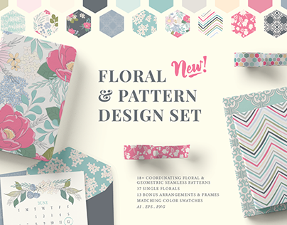 Floral & Pattern Design Pack