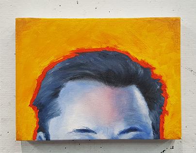 A Portrait of Elon Musk's Hairline