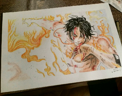 One Piece Tribute - Ace