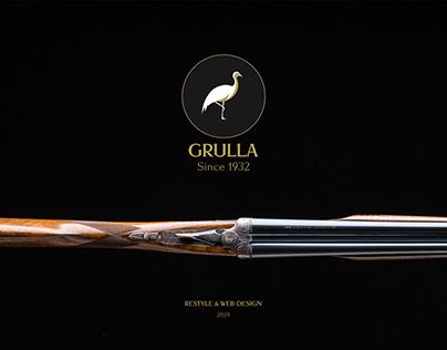 GRULLA shotguns website