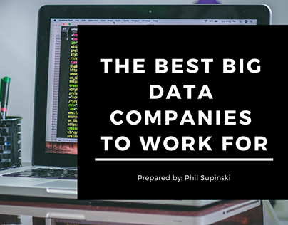 The Best Big Data Companies to Work For - Phil Supinski