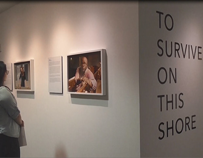Video of To Survive On This Shore exhibition