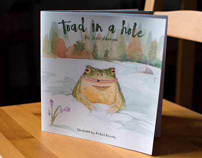 Toad in a hole - Children's book