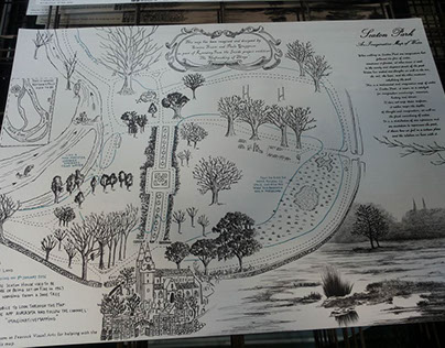 An Imaginative Map of Seaton Park