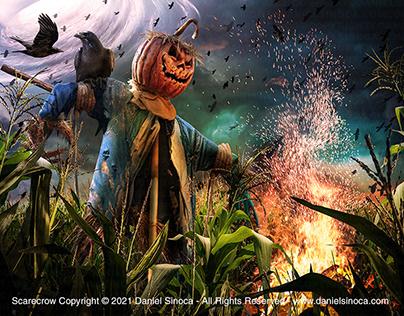 Scarecrow - by Daniel Sinoca