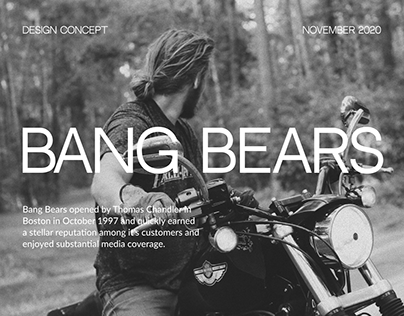 Bang Bears design concept