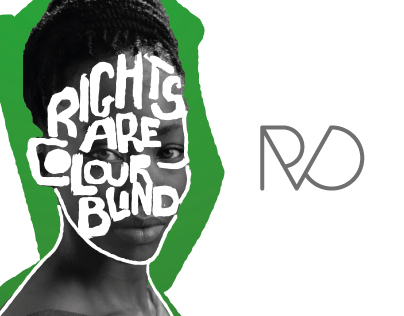 Poster Series: Rights Are Colourblind (unused)