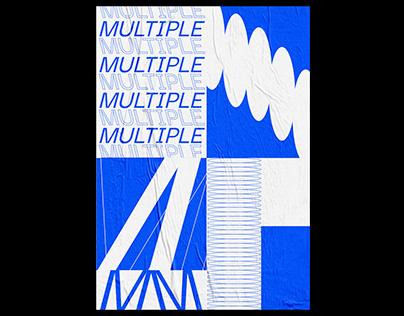 BLANK POSTER - MULTIPLE