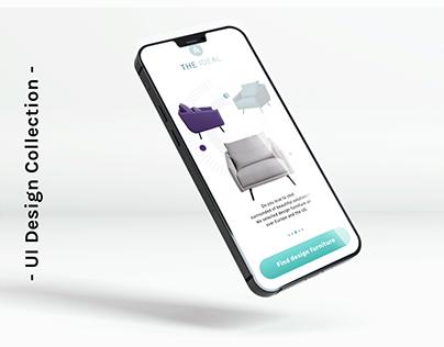 UI Design Collection - Shopping App Concepts