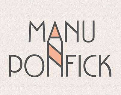 Identidade Visual: Manu Ponfick
