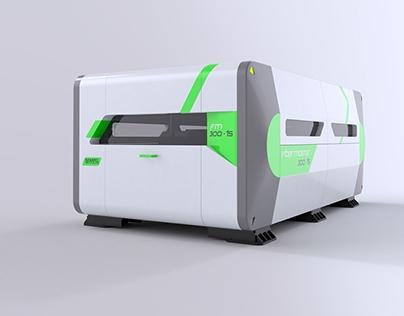 External design of fiber laser cutting machine