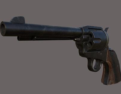 3D Colt Single Action Army ( Artillery )