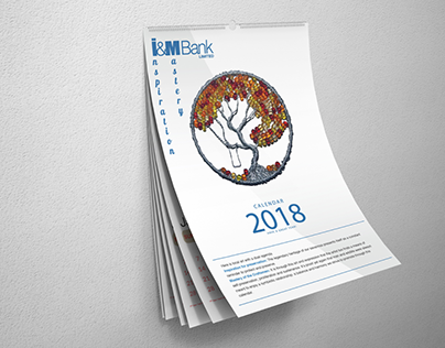 I&M BANK: Calendar concept