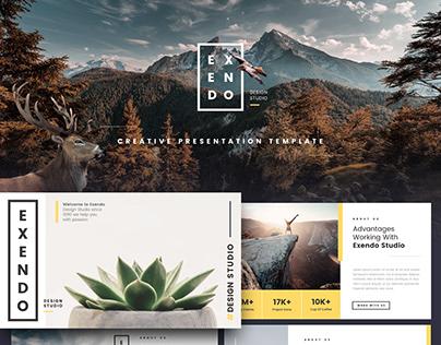 Exendo - Creative Presentation Template