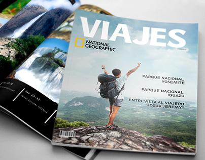 """Diseño Editorial en Revista - """"VIAJES"""""""