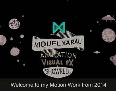 Miquel Xarau - Motion Demoreel 2014