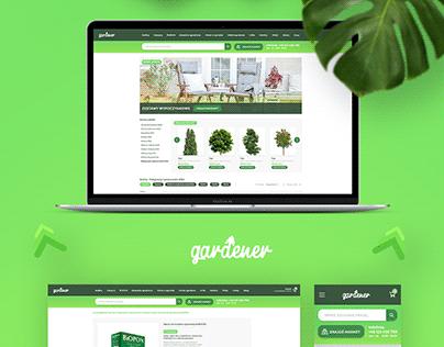 Gardener - Website