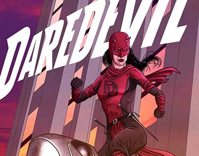Daredevil Elektra Variant Cover