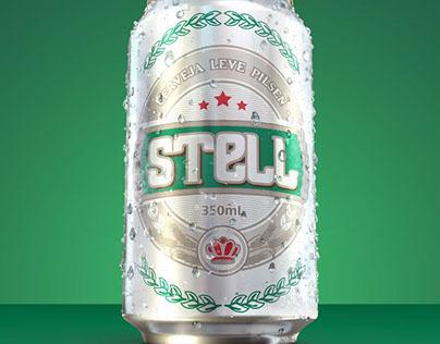 Mockup digital lata de cerveja 350ml | Cervejaria Colôn