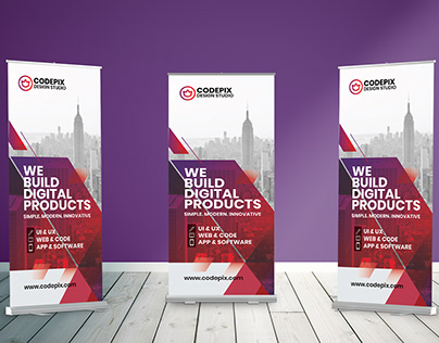 Professional Corporate Roll Up Banner
