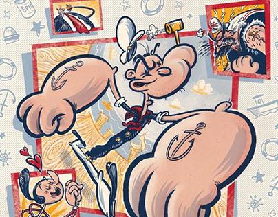 Popeye Comic Cover