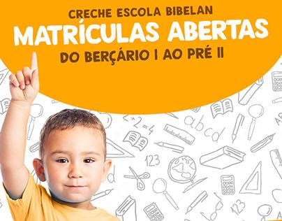 Campanha 2017.1 Creche Escola Bibelan
