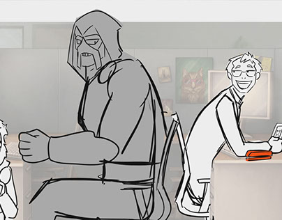 Bad Guys - Pilot Storyboards