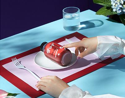 代餐减脂奶昔 | 植分子嫦娥瓶 - 中国航天孵化品牌