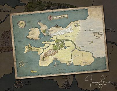 Hastovia Map