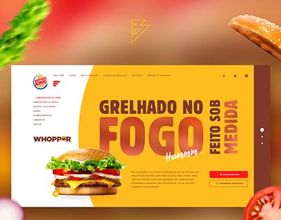 #02 UX/UI - Redesign Burger King